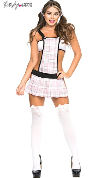 Always Ready School Girl Lingerie Costume