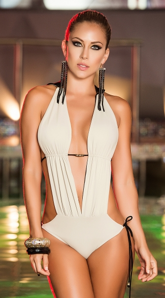 Seductive Hooded Monokini