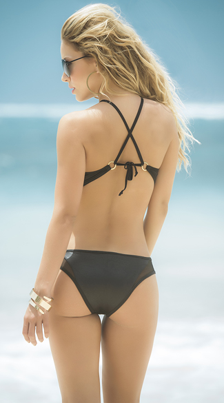 High Neck Racerback Monokini