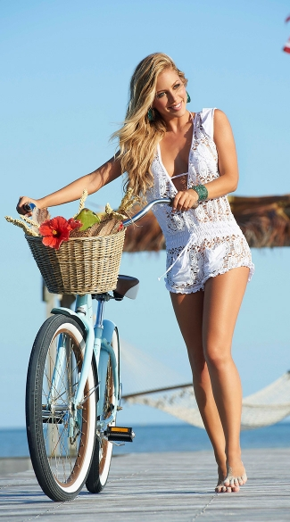 Lace Romper Cover Up