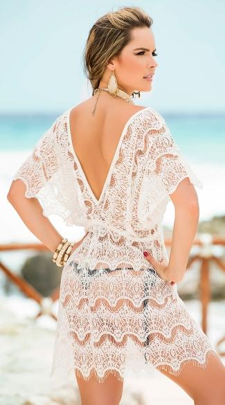 Romantic Lace Cover-Up
