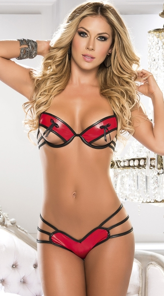 Bow Beauty Bra and Panty Set