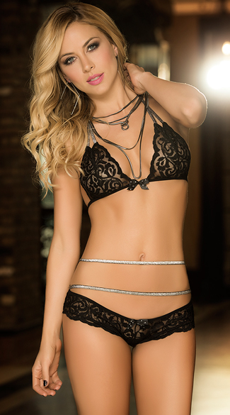 Lace in All The Right Places Bra Set