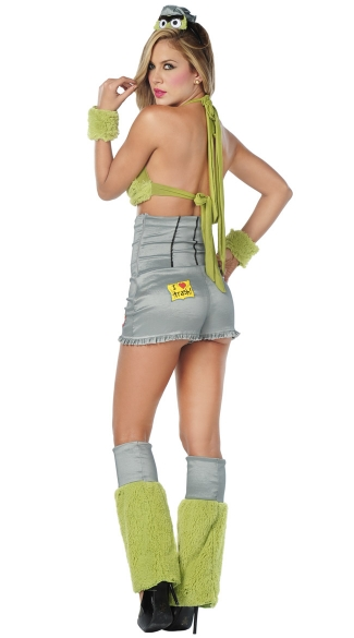 Sexy Trash Monster Costume