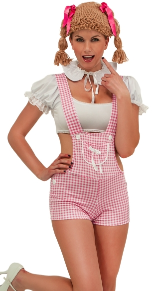 Pink Pumpkin Patch Doll Costume