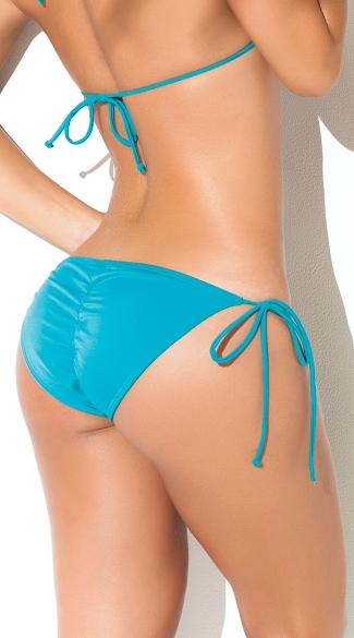 Exclusive String Tie Side Bikini Bottom