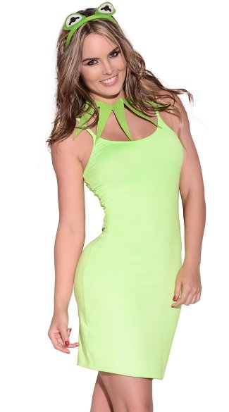 Green Playful Dress