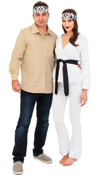 The Karate Girl Costume