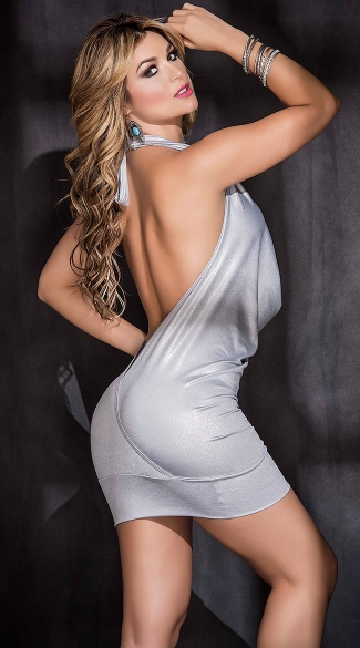 Metallic Diva Dress