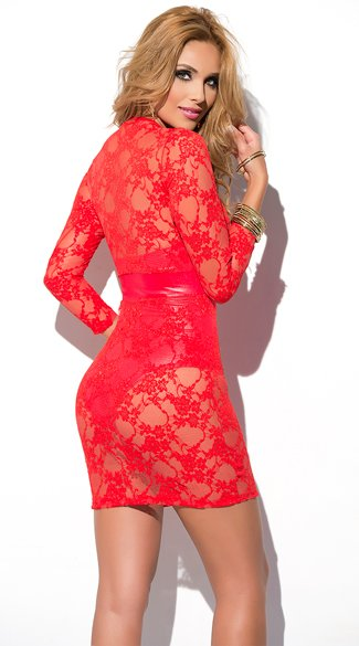 Entranced Lace Dress