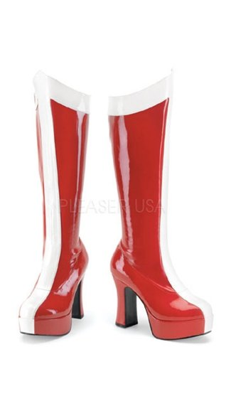"Super Stripe Exotica Boot with 4"" Heel"