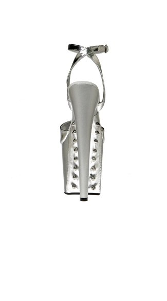 Sexy Spiked Threat Extreme Platform Sandal