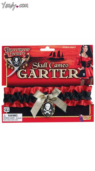 Buccaneer Beauty Garter, Pirate Garter, Pirate Costume Garter