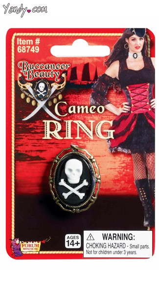 Buccaneer Beauty Cameo Ring