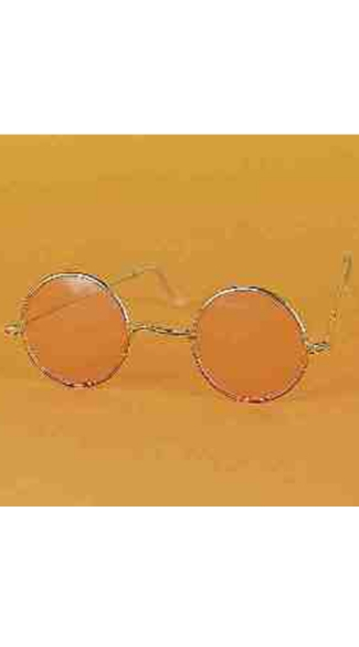 Circular Hippie Glasses, Hippie Costume Glasses, John Lennon Glasses