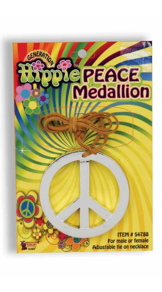 Groovy Peace Medallion