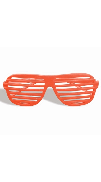 Neon Orange Slotted Glasses, Neon Slotted Glasses, Kanye West Glasses, Popular Sun Glasses, Slotted Sun Glasses