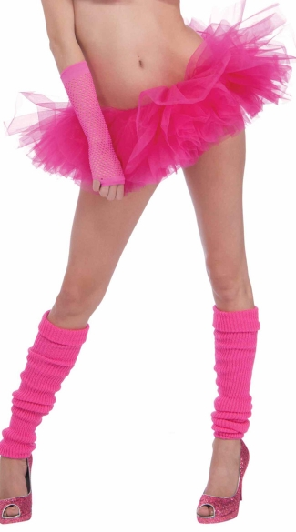 Neon Pink Tutu, Neon Pink Petticoat, Neon Colored Tutu, Neon Accessories, Neon Skirts