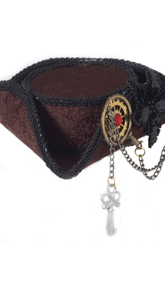 Mini Steampunk Pirate Hat