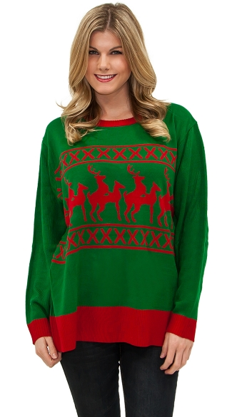 Reindeer Games Sweater, Ugly Christmas Sweater, Mens Christmas Sweater, Funny Christmas Sweater
