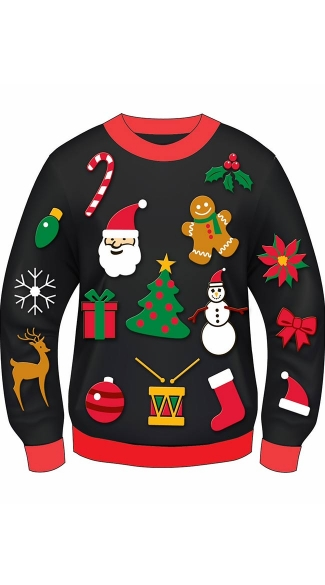 Plus Size Everything Christmas Sweater