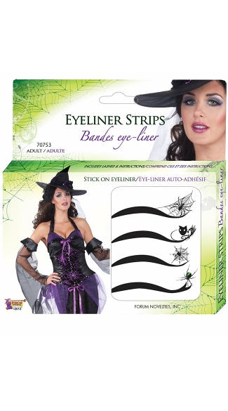 Spider Web Eyeliner Kit, Tattoo Eyeliner, Spider Face Tattoos