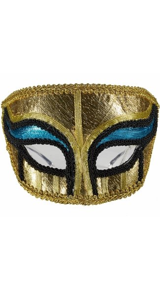 Men\'s Gold Egyptian Mask