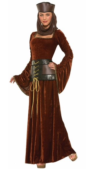 Rescue Me Medieval Damsel, Costumes For Women, Damsel In Distress Costume