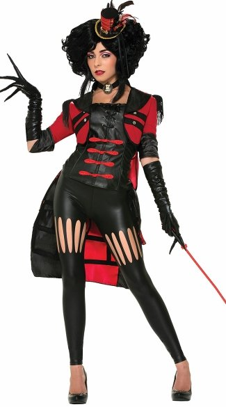 Scandalous Circus Lion Tamer Costume, Circus Costume Ideas, Circus Themed Costumes