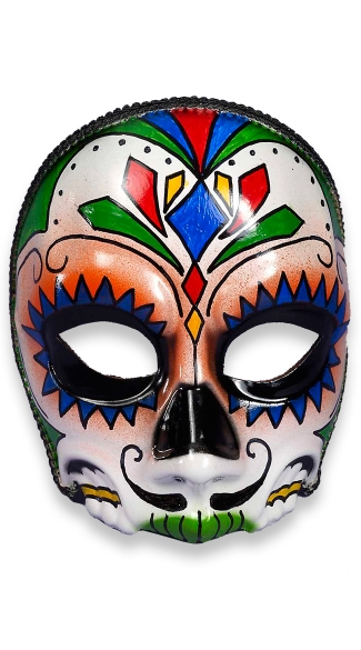 Day of the Dead El Senor Face Mask, Face Masks For Men, Day of the Dead Mask