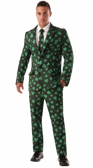 Men\'s Shamrock Suit Costume