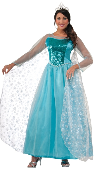 Princess Krystal Costume, Princess Costume, Ice Queen Costume