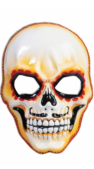 Men\'s Day of the Dead Skull Mask