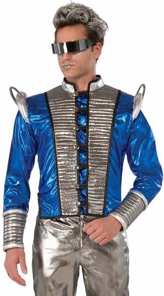 Men\'s Futuristic Jacket, Men\'s Jacket, Men\'s Space Costume