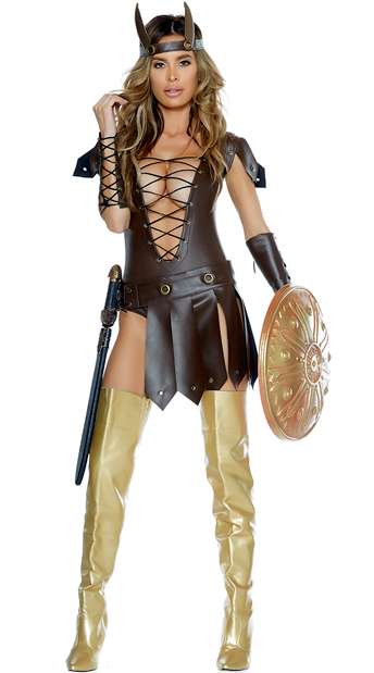 Victorious Viking Costume, Norse Warrior Costume - Yandy.com