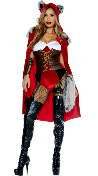 Red Haute Costume, Radiant Red Costume - Yandy.com