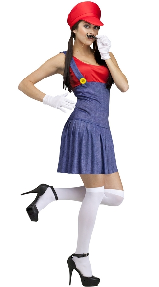Pretty Plumber Costume, Video Game Plumber Costume
