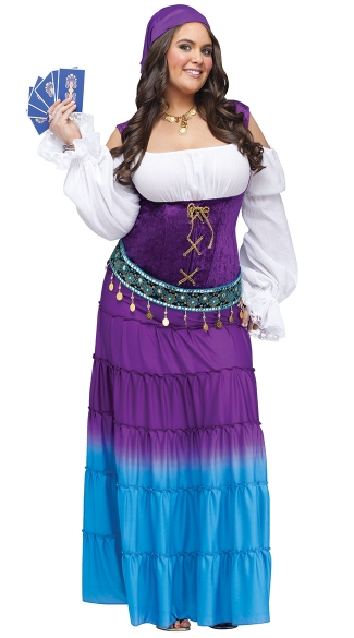 Plus Size Gypsy Moon Costume