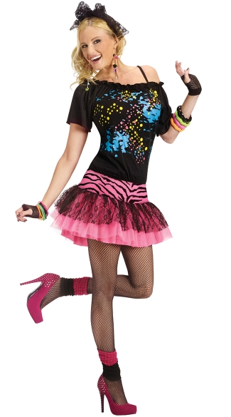 80\'s Pop Party Costume