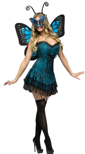 Butterfly Baby Costume, Blue Butterfly Halloween Costume, Adult Butterfly Costume