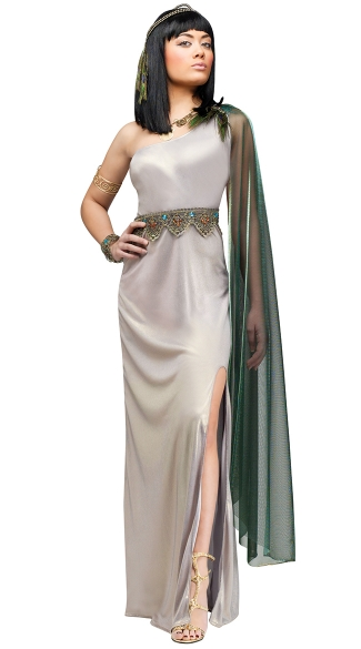 Jewel Of The Nile Diamond Costume, Sexy Cleopatra Costume,  Adult Egyptian Costume