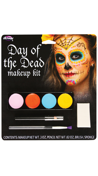 Sugar Skull Makeup Kit, Day of the Dead Makeup, Dia De Los Muertos Makeup