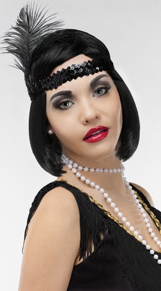 20\'s Instant Decades Kit , Decades Instant Kit, Flapper Girl Costume Accessories