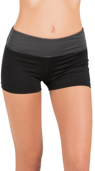 Two-Tone Reversible Cardio Short, Active Wear shorts, Reversible Shorts