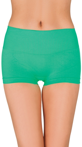 Seamless High Waisted Boyshort