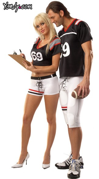 Female Football Player Costume