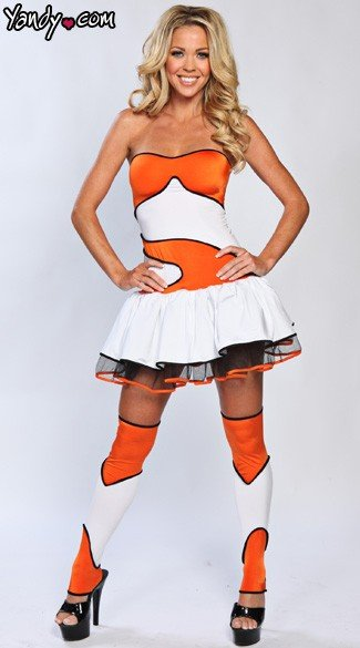 Finding Clownfish Costume