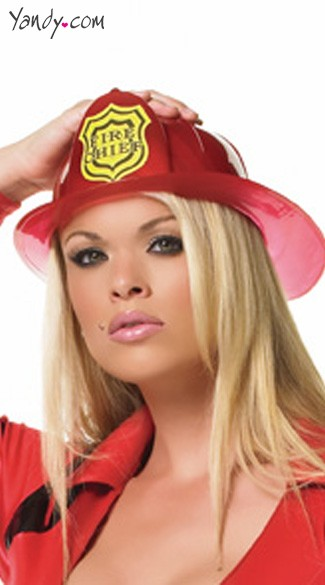 Fireman\\\'s Hat For Halloween Costume, Leg Avenue Costume Hat