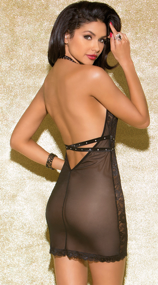 Captivating Deep Plunge Chemise