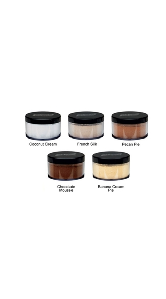 Translucent Coconut Cream HD LuxeCashmere Setting Powder , Professional Make Up Setting Powder